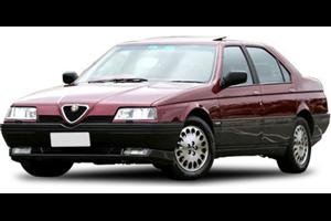 Alfa Romeo 164 com fundo branco