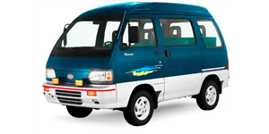 Asia Motors Towner fundo branco
