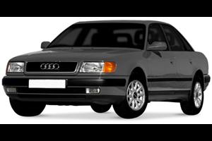 Audi 100 fundo branco
