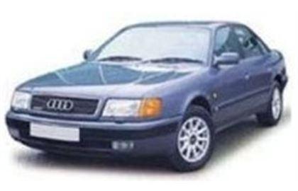 Audi 80 com fundo branco