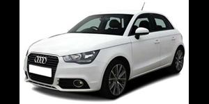 Audi A1 fundo branco