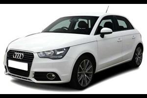 Audi A1 com fundo branco
