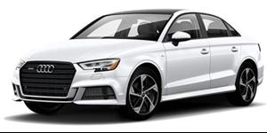 Audi A3 fundo branco