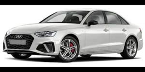 Audi A4 fundo branco