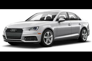 Audi A6 com fundo branco