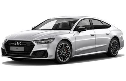 Audi A7 com fundo branco