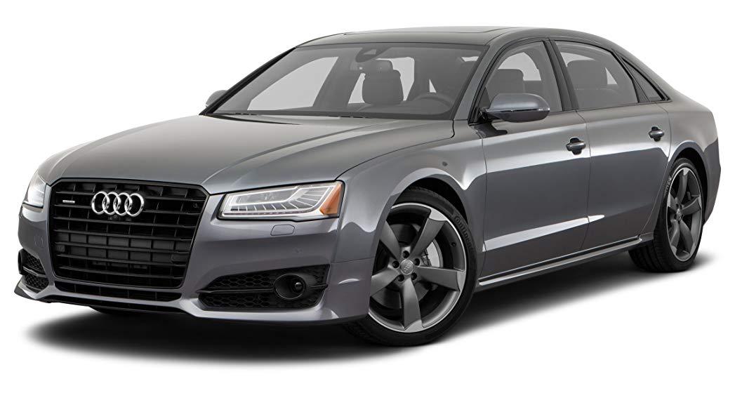 Audi A8 com fundo branco