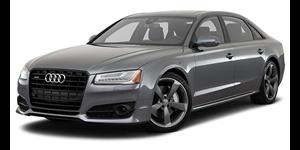 Audi A8 fundo branco