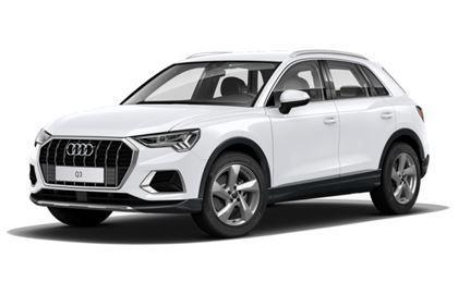 Audi Q3 com fundo branco