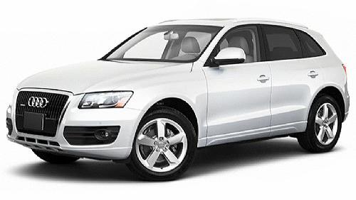 Audi Q5 com fundo branco