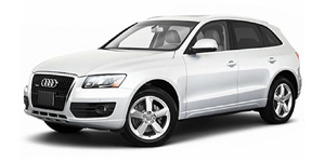 Audi Q5 fundo branco