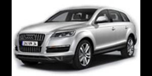 Audi Q7 fundo branco