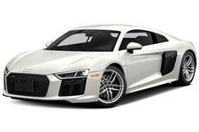 Audi R8 com fundo branco