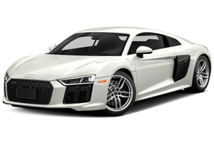 Audi R8 fundo branco
