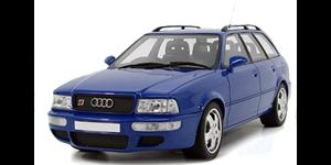 Audi RS2 fundo branco