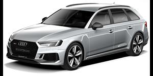Audi RS4 fundo branco