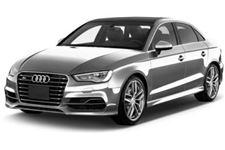Audi S3 com fundo branco