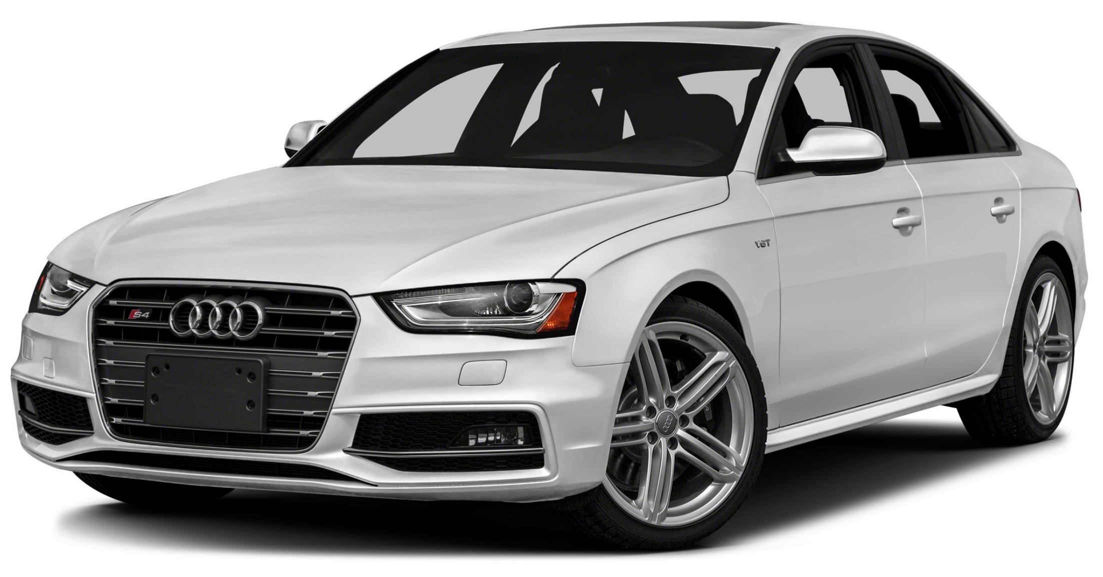 Audi S4 com fundo branco