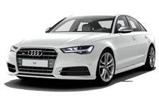 Audi S6 com fundo branco