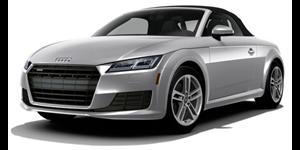 Audi TT fundo branco