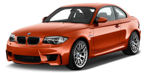 BMW M1 fundo branco