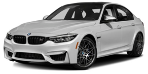 BMW M3 fundo branco