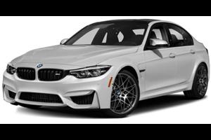 BMW M3 com fundo branco