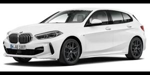 BMW Série 1 fundo branco