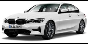BMW Série 3 fundo branco