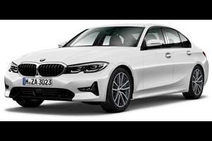 BMW Série 3 com fundo branco