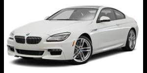 BMW Série 6 fundo branco