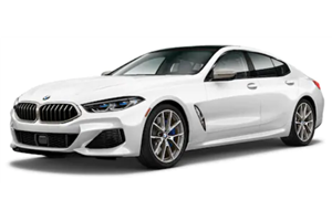 BMW Série 8 fundo branco