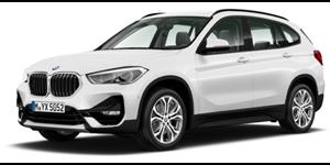 BMW X1 fundo branco