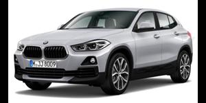 BMW X2 fundo branco