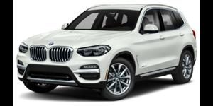BMW X3 fundo branco