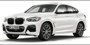 BMW X4 fundo branco