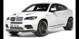 BMW X6 fundo branco