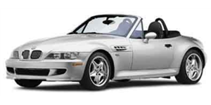 BMW Z3 fundo branco