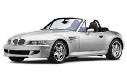 BMW Z3 com fundo branco