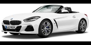 BMW Z4 fundo branco