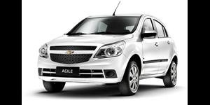 Chevrolet Agile fundo branco