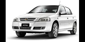 Chevrolet Astra Sedan fundo branco
