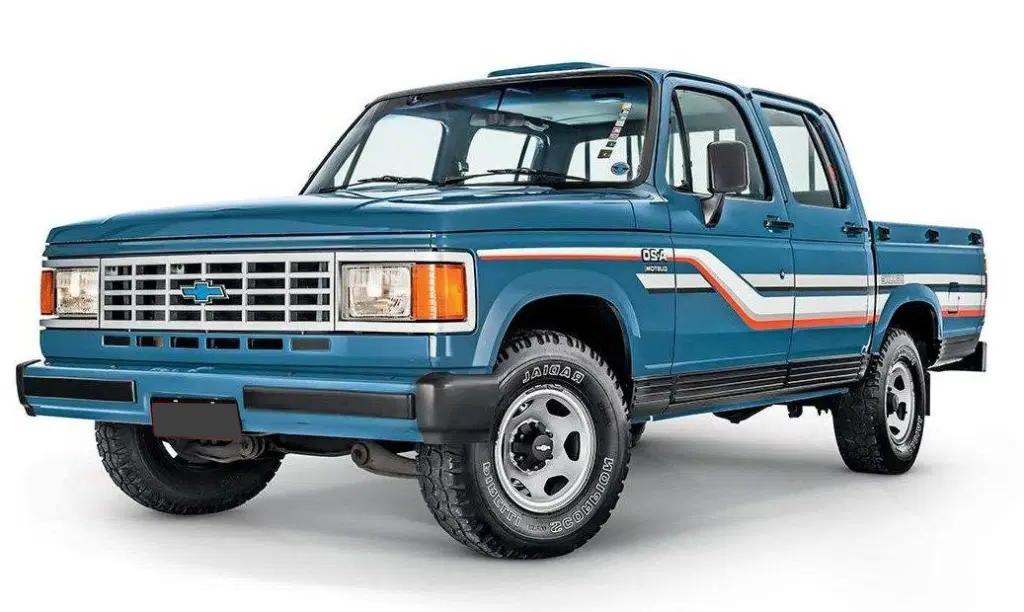 Chevrolet Brasinca com fundo branco