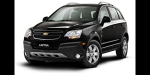 Chevrolet Captiva fundo branco