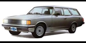 Chevrolet Caravan fundo branco
