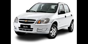 Chevrolet Celta fundo branco