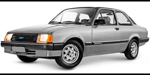 Chevrolet Chevette fundo branco