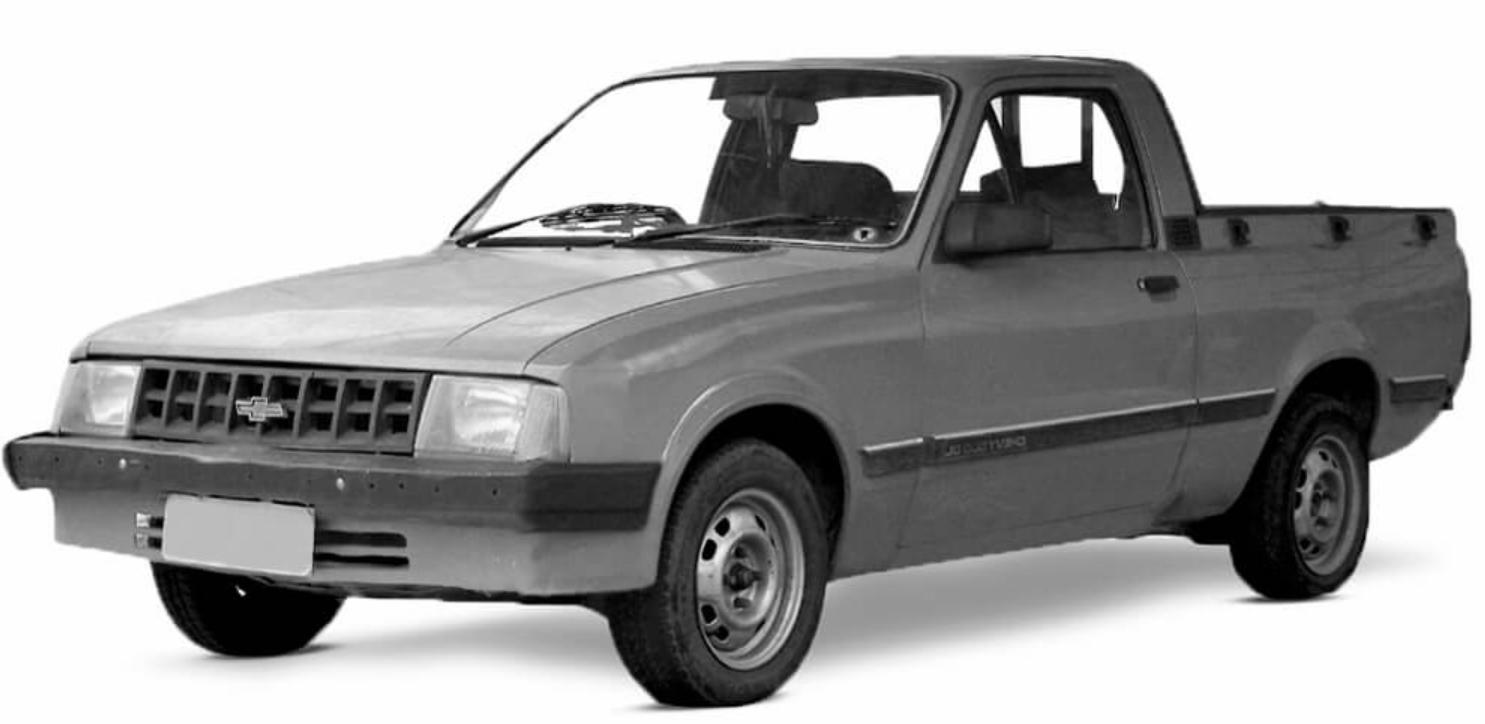 Chevrolet Chevy com fundo branco