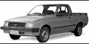 Chevrolet Chevy fundo branco