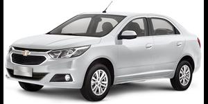 Chevrolet Cobalt fundo branco